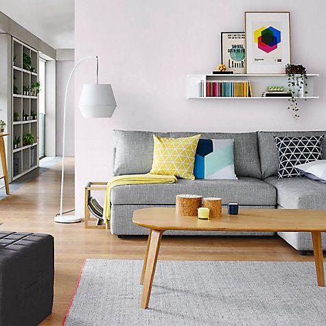 Buy Housejohn Lewis Isometric Cushion Online At Johnlewis Simple Dining Room Furniture John Lewis Decorating Design