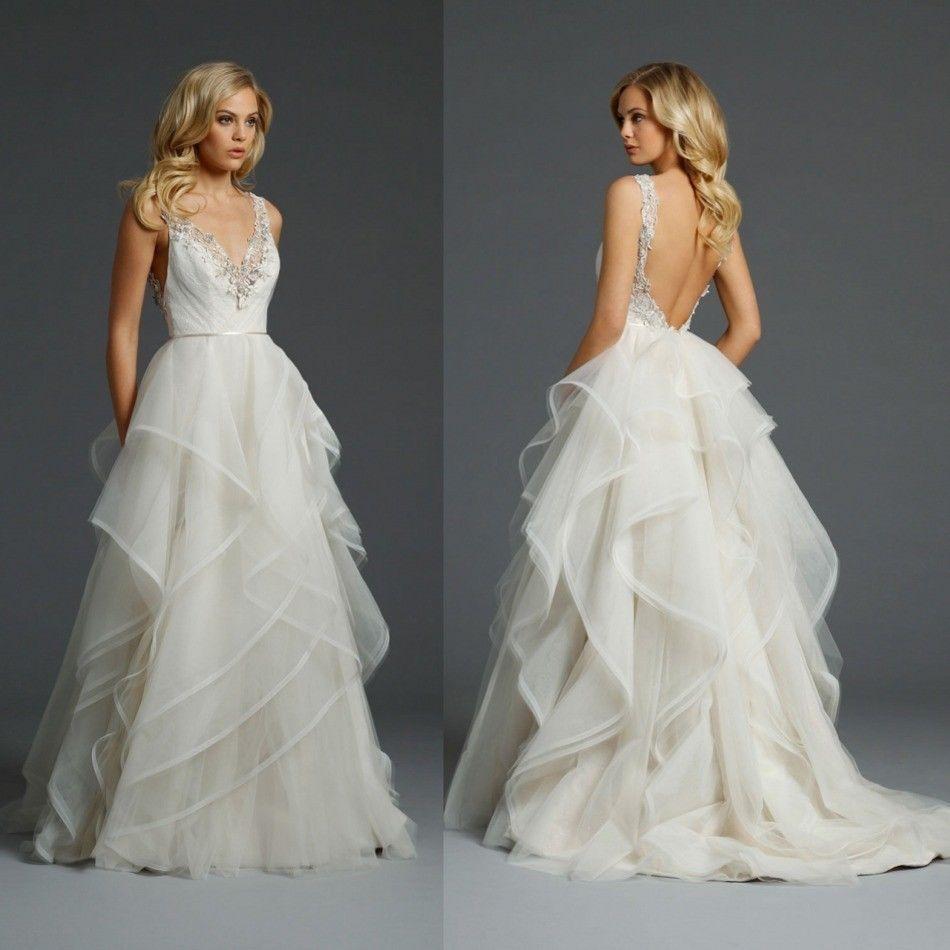 Beach new wedding dresses wedding gowns custom size