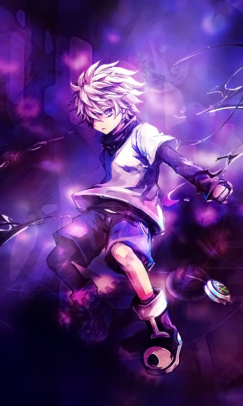 If you have an iphone 6s or later models, you can make a live wallpaper on iphone natively, without having to download an app. Killua Wallpaper Iphone 39 Pictures Em 2020 Animes