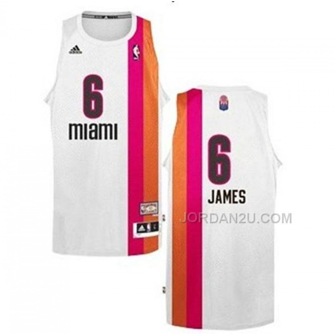 outlet store sale 1383f 6da3b LeBron James Miami Heat Floridians Swingman Jersey, Price ...