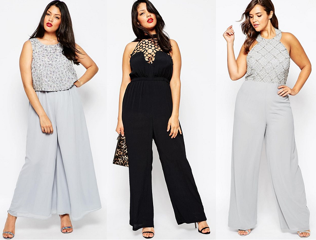 e8634664bc1ec Shapely Chic Sheri - Curvy Fashion and Style Blog  15 Plus-Size Jumpsuits  for New Year s Eve