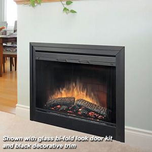 Dimplex 39 2 Sided Built In Electric Fireplace Insert Built In