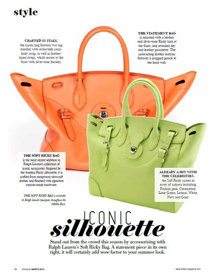 3df618265e32b The Soft Ricky Bag is Middle East Magazine s Product of the Month ...