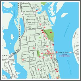 St. Augustine Self Guided Walking Tour and Printable Map Facts Printable PDF Tour Map
