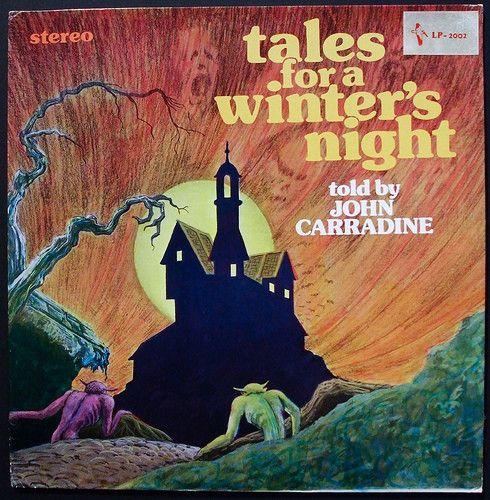 John Carradine Tales for a Winter's Night (Vinyl, LP) at