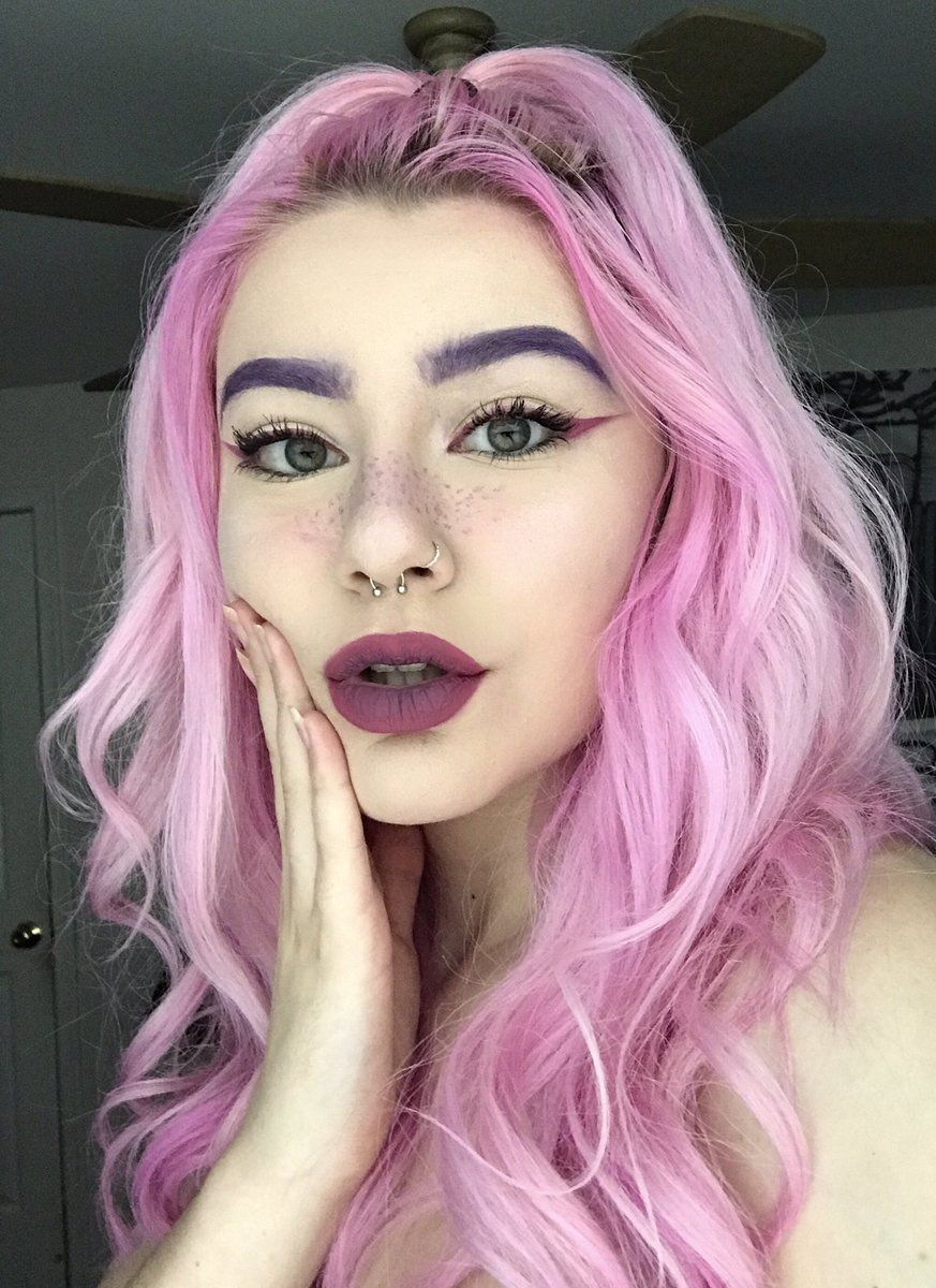 55 Twitter Dye Eyebrows How To Color Eyebrows Hair Color Purple