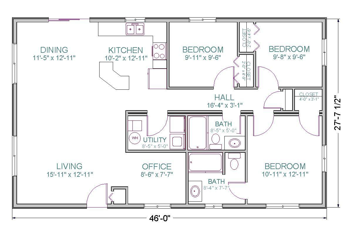 Modular Prow Ranch Tlc Modular Homes Floor Plans Ranch Ranch