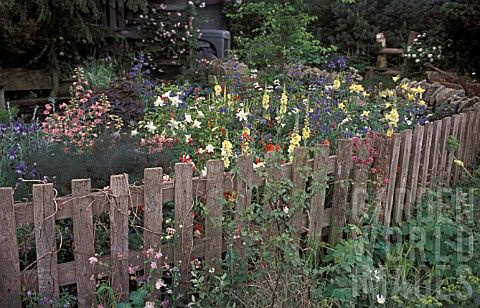 Wood cottage fence in landscape supplies grow dreamy gardens wood cottage fence in landscape supplies workwithnaturefo