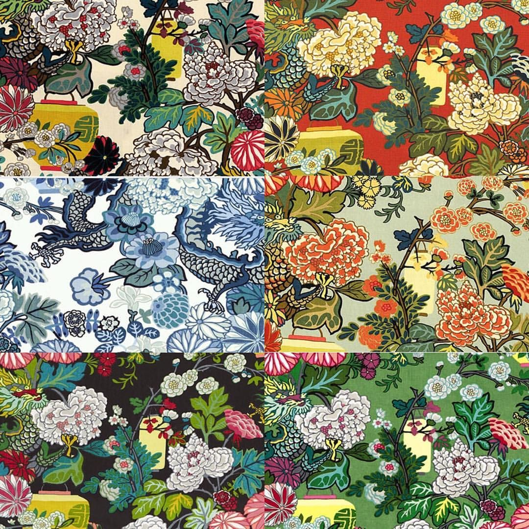 chiangmai dragon prints by schumacher dania u2022 pattern