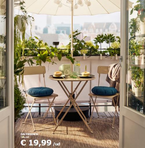 Catálogo muebles jardín Ikea: precios ofertas 2018 | Pinterest ...