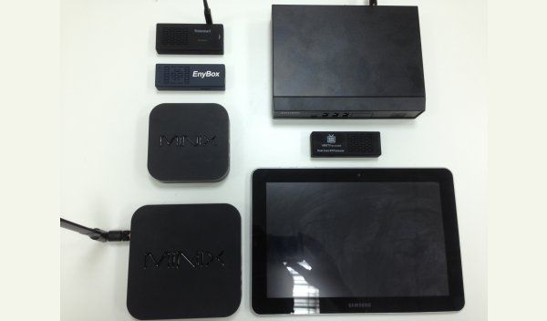 Recommended hardware for Android digital signage: Minix