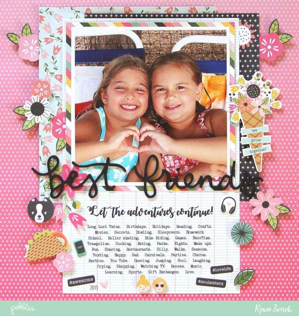 28 Best Picture of Best Friend Scrapbook Ideas Layout ...