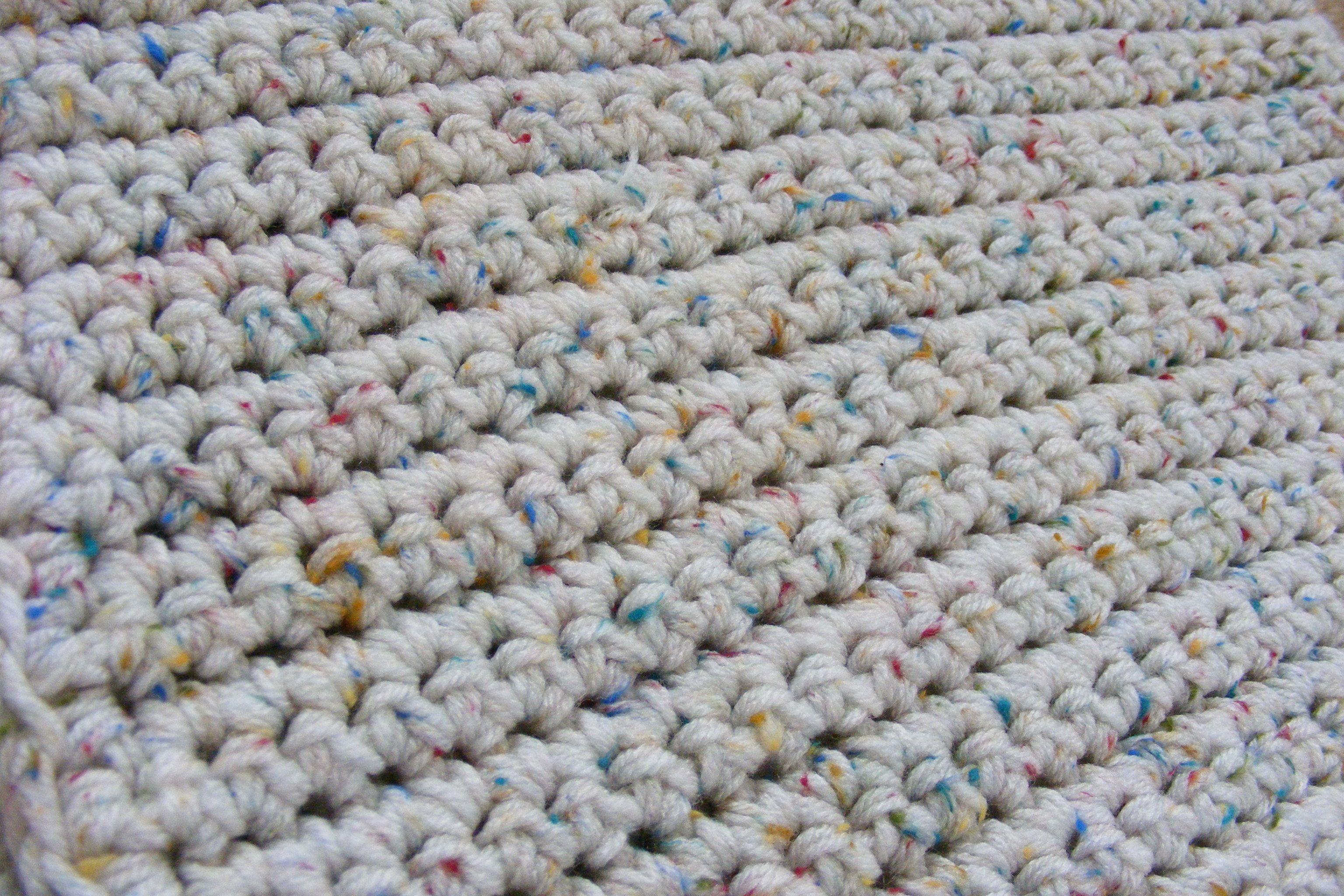 Single Crochet Baby Blanket Pattern   Crochet blanket pattern easy ...