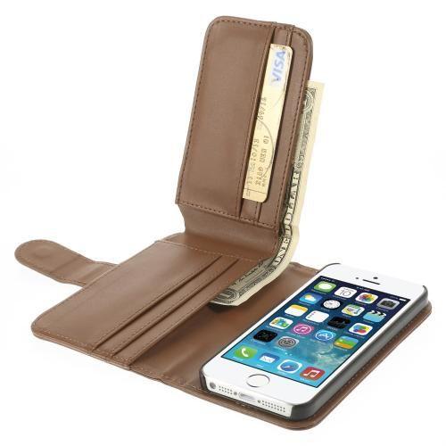 Köp Plånboksfodral Multi-slot Apple iPhone 5 5S SE brun online  http ... c3959761fc7f7