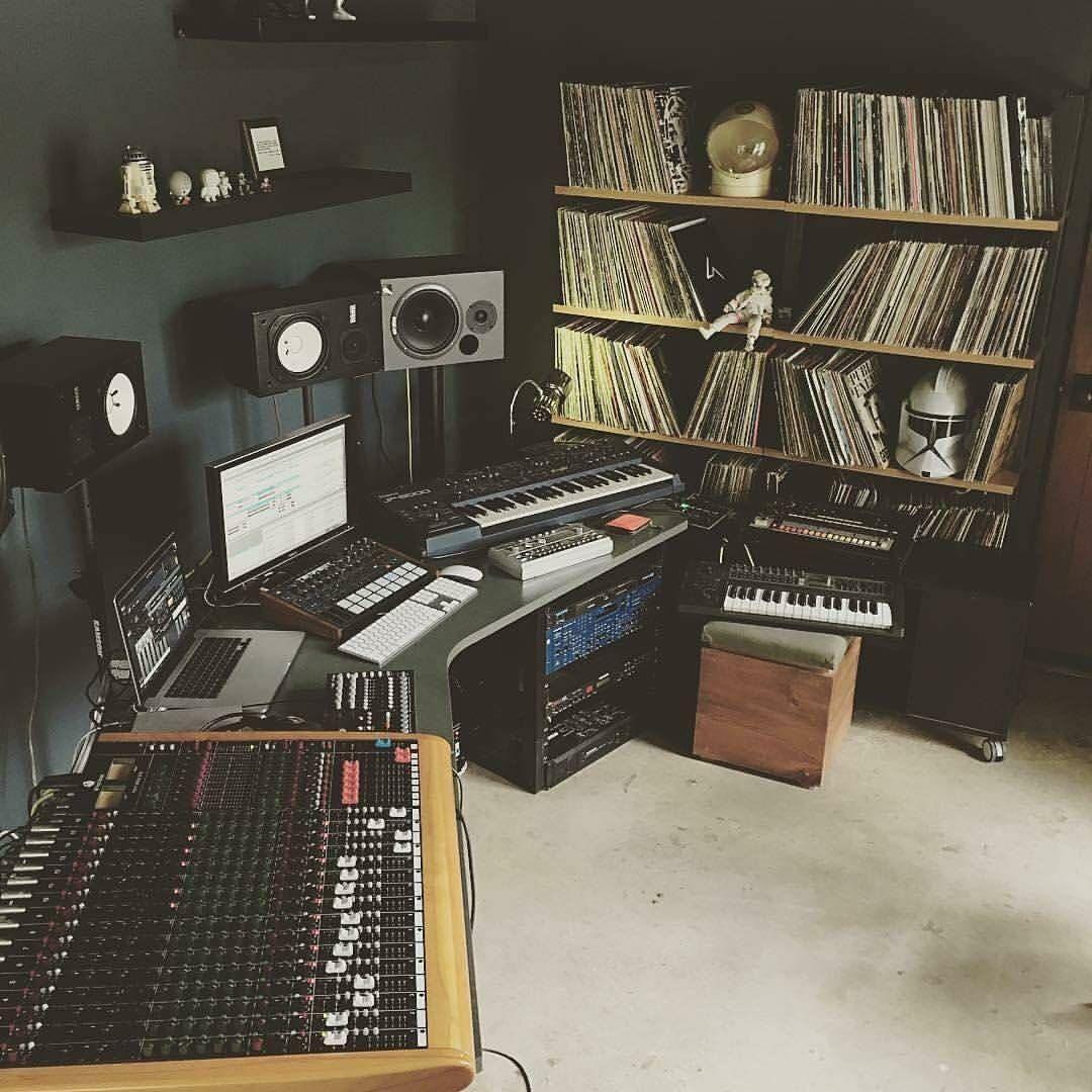 Cool Rooms Setups)   Apartment   Pinterest   Studio, Music studios ...