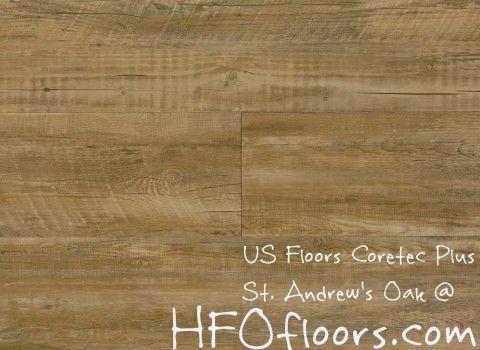 Floors Coretec Plus Andrew Oak Luxury Vinyl