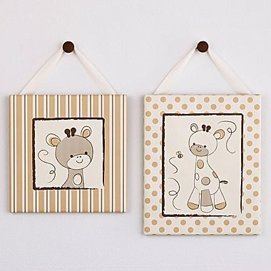 CoCaLo® Snickerdoodle 2-pc. Wall Art - jcpenney