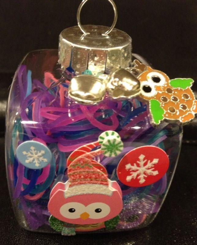 Rainbow Loom Owl Ornament, 275 Refill Bands, Charm, Kit