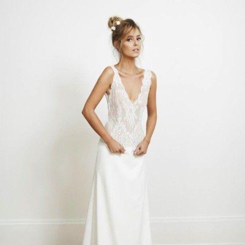 Vestido novia marca francesa