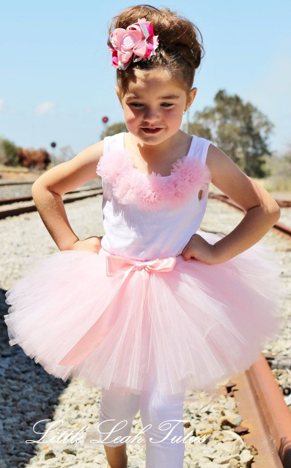 Hey, I found this really awesome Etsy listing at https://www.etsy.com/listing/119151177/rosette-pink-tutu-light-pink-tutu-with