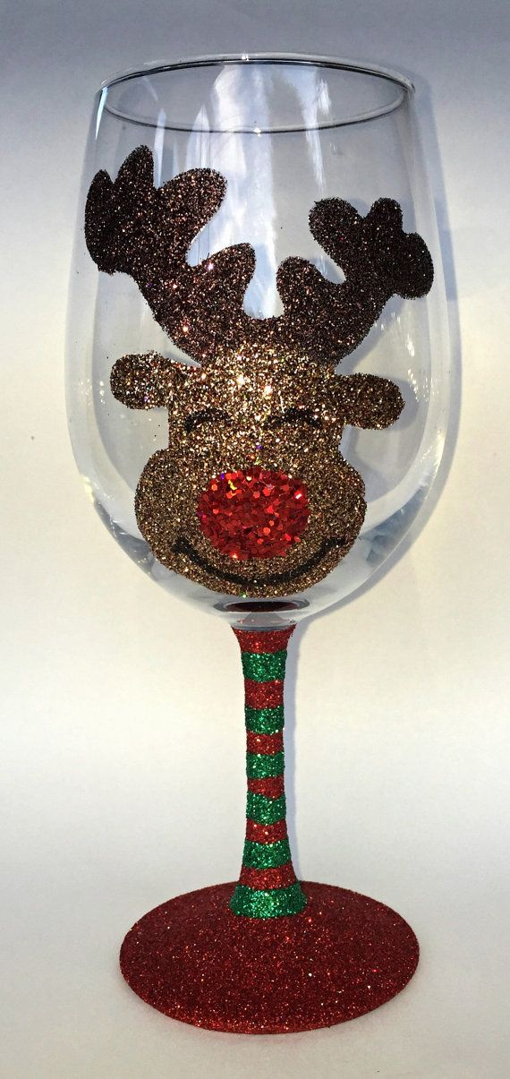 REINDEER wine glass candleholder | tcgdesigns