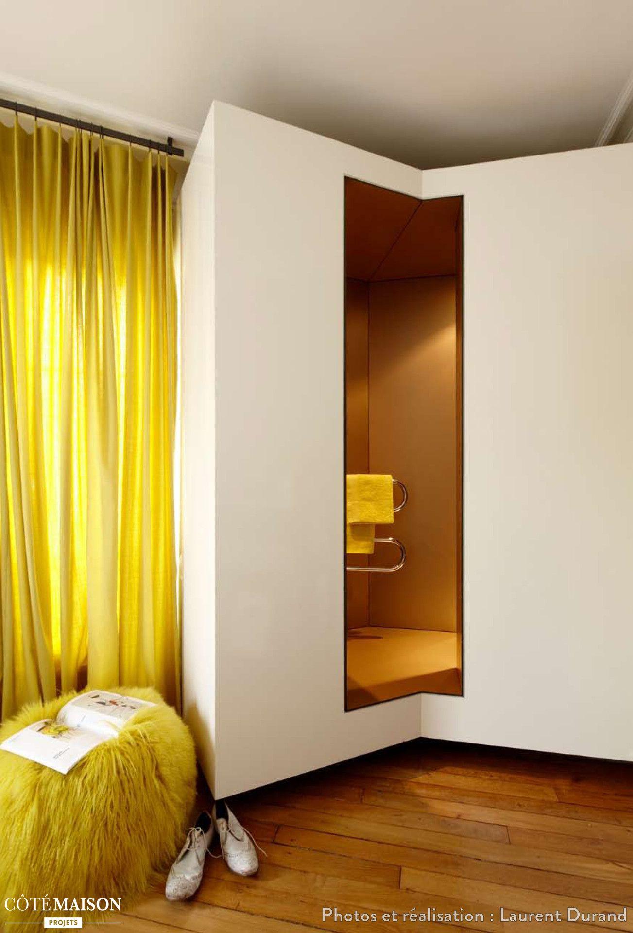 une couleur p tante tel que le jaune dans un couloir peut. Black Bedroom Furniture Sets. Home Design Ideas