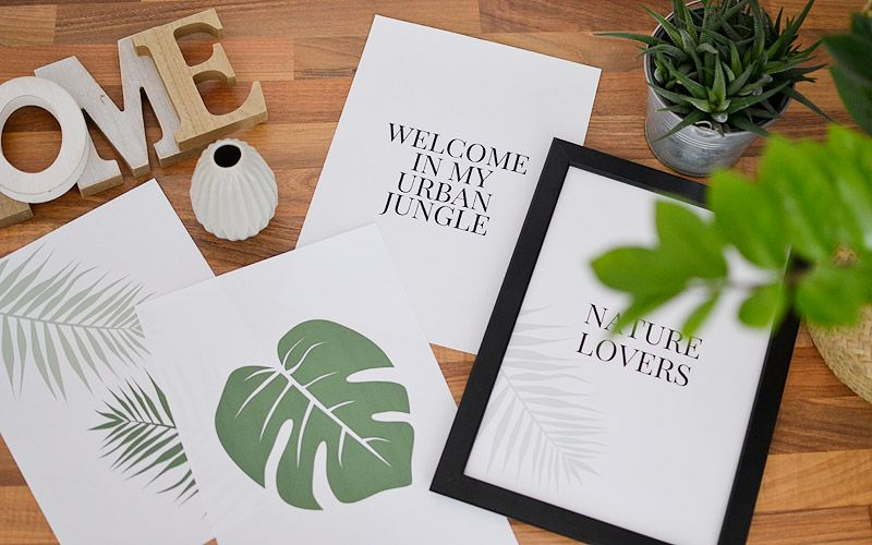 Plakaty Botaniczne Z Roślinami Do Druku Do Druku Plakat