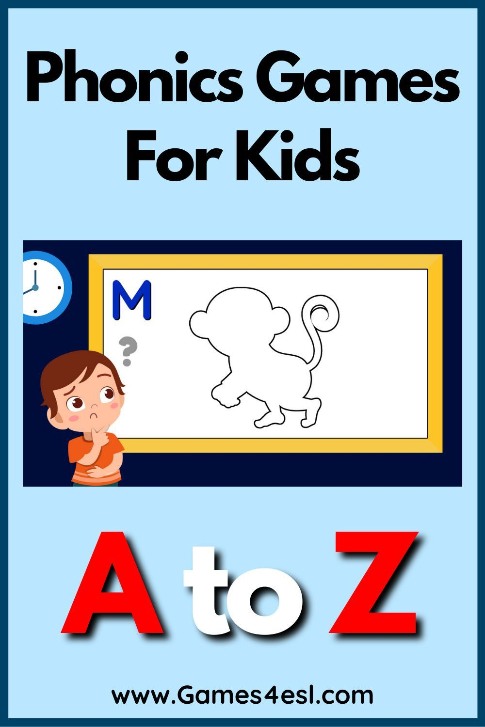 Phonics Games For Kids A To Z Phonics Games For Kids Phonics Games Phonics
