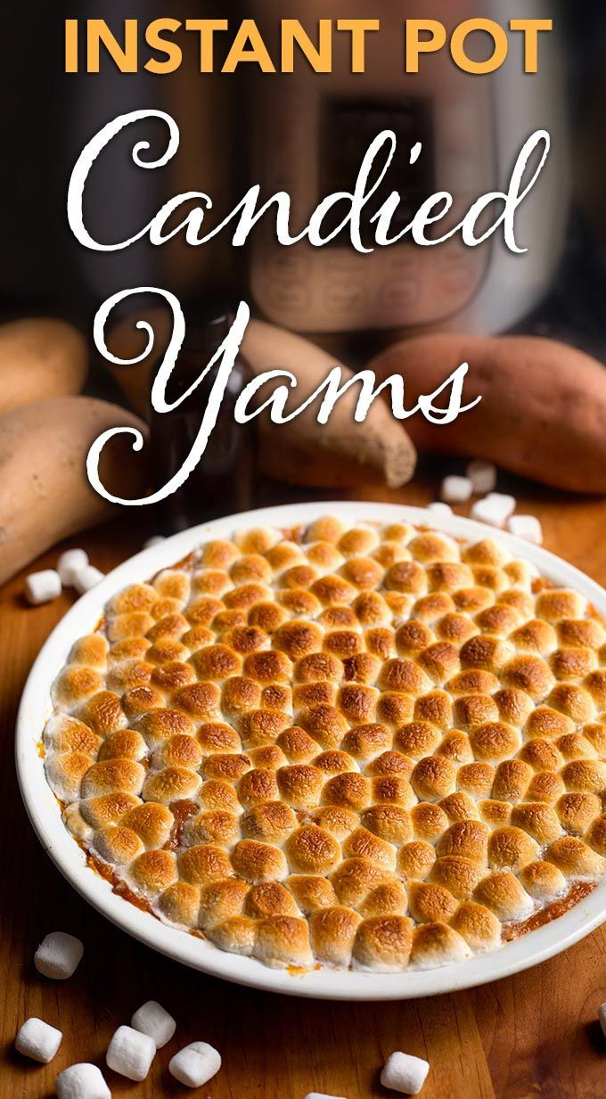 Instant Pot Candied Yams | Simply Happy Foodie