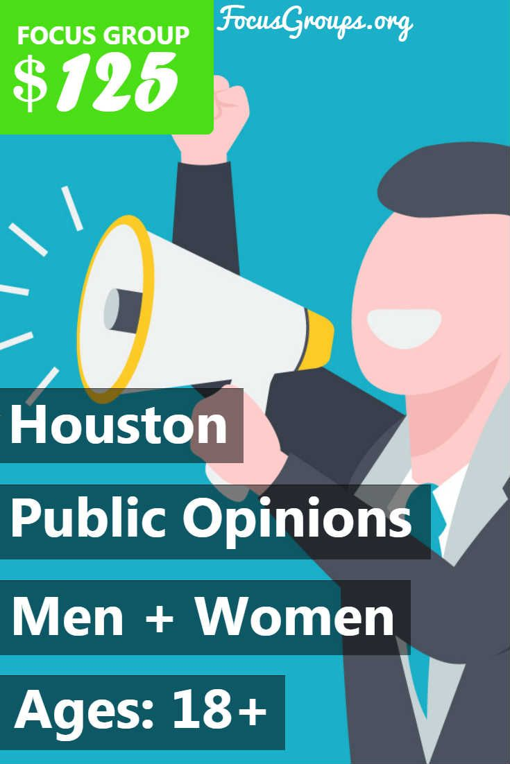 Focus Group for Parents on Public Opinions in Houston