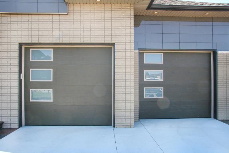 Garage Doors 4 Less Flush Panel Atwater Office Pinterest