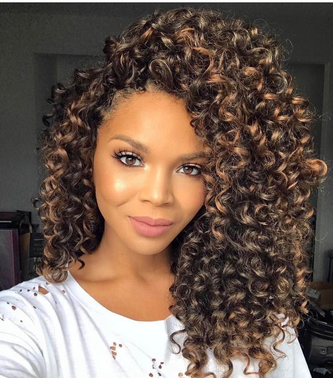 Crownedbyd The Crownedbyd Sophie Soft Ombre Hair 30 Curly Crochet Hair Styles Natural Hair Styles Curly Hair Styles