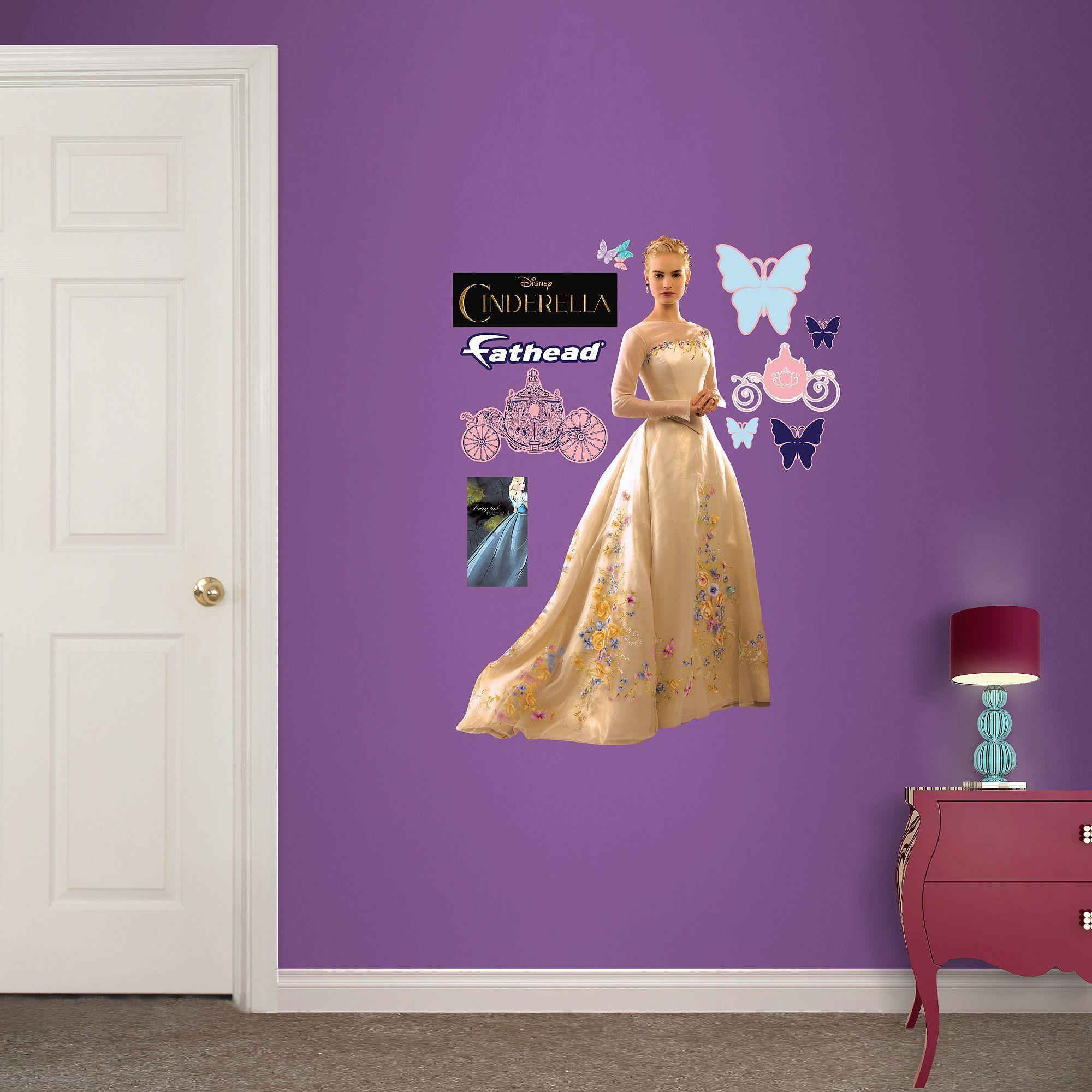 Disney Cinderella Movie Junior Wall Decal Wall decals