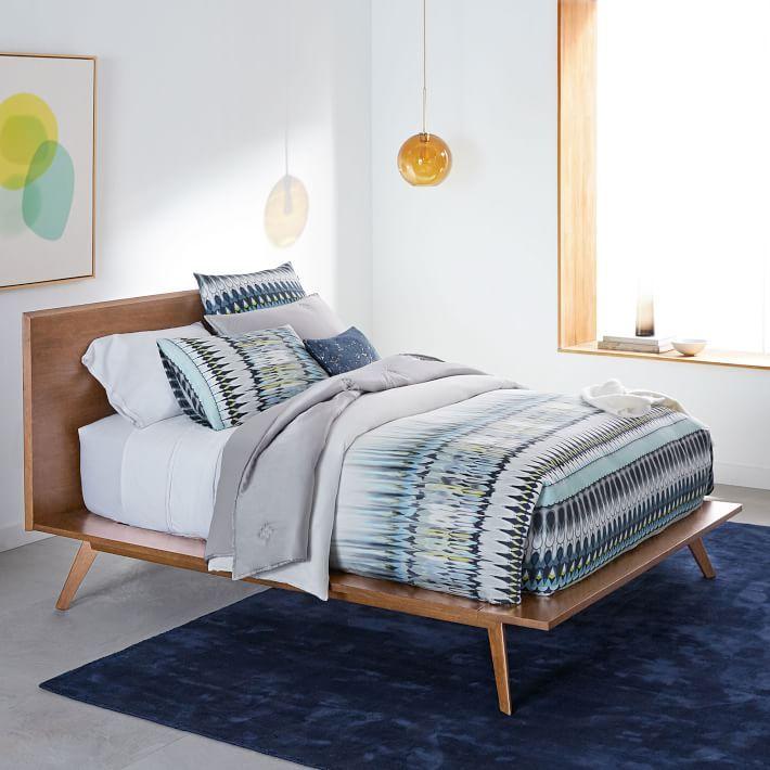 Mid Centuryplatform Bed