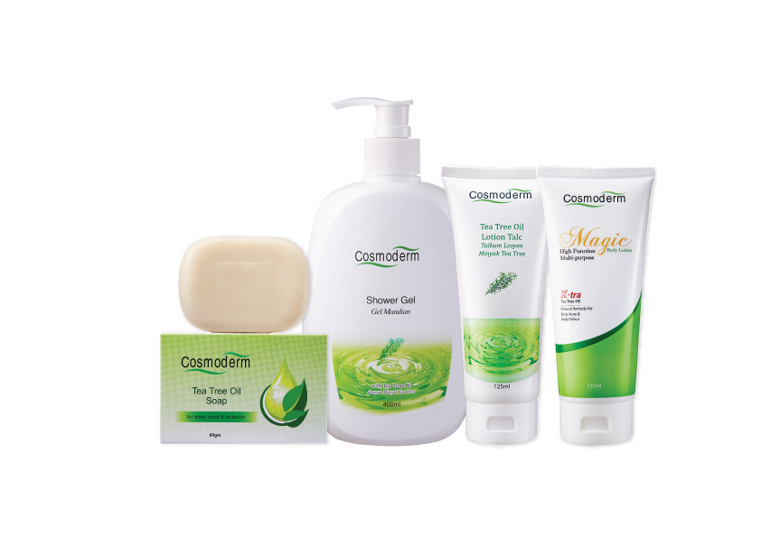Pin by I ♥ Cosmoderm on Cosmoderm Bodycare Tea tree