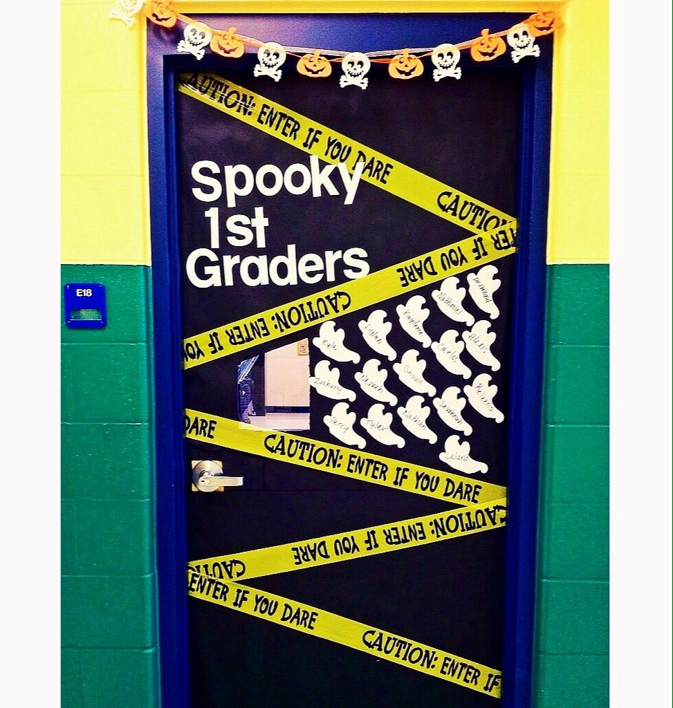 My classroom door Halloween theme ) Classroom Pinterest - Halloween Classroom Door Decorations