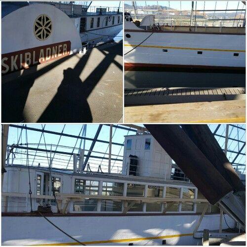 Skibladner, the world oldest  padle steamer, still in service!