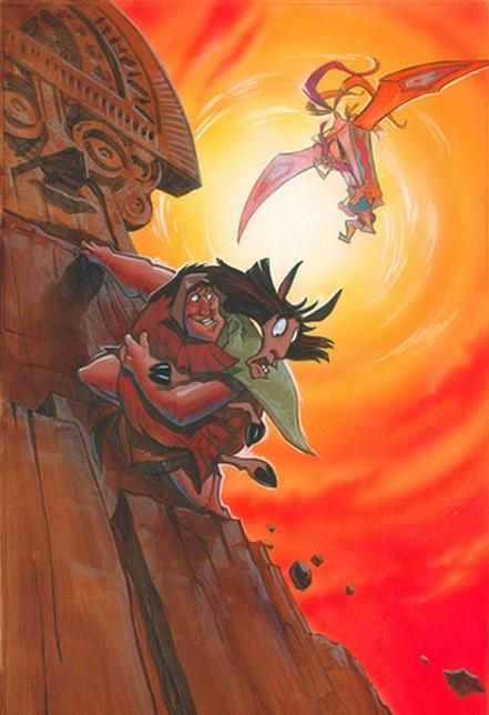 Kuzco, l'Empereur Mégalo [Walt Disney -2001] - Page 6 F9c9d3422bda03ef050749556abfa654