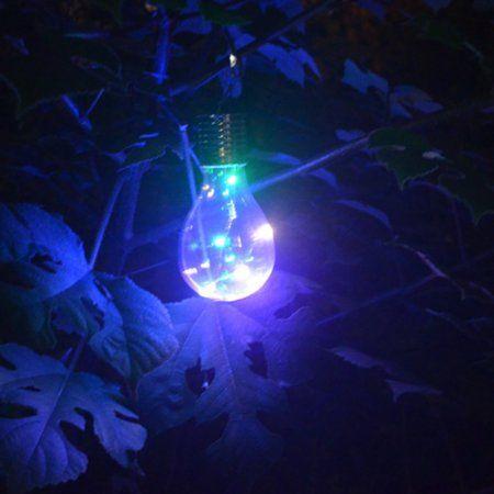 Led Rope Lights Walmart Led String Light Bulb Outdoor Solar Energy Courtyard Lawn Light