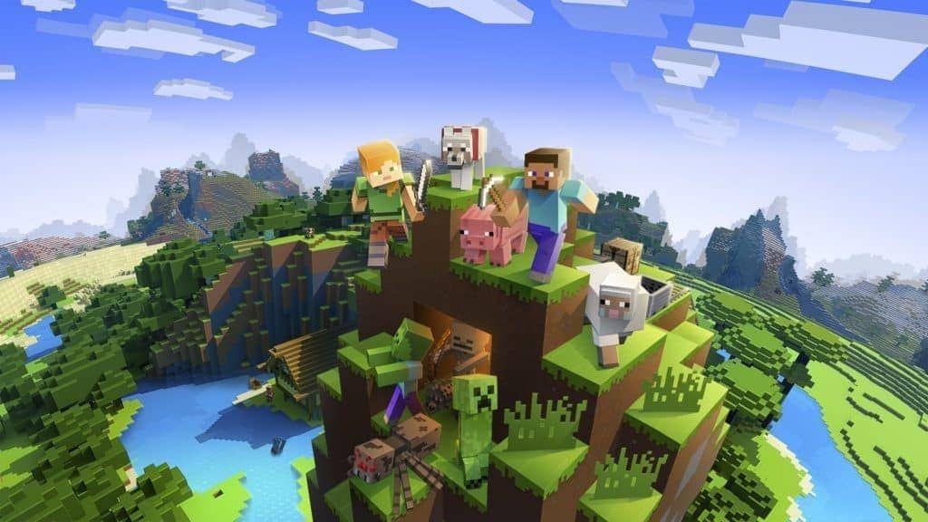 Minecraft 1 15 0 51 Apk Free Download Phong Cảnh Minecraft Tro Chơi