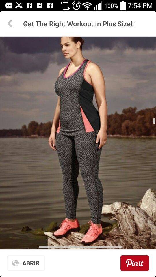 Plus Size Activewear e4b33b73b44