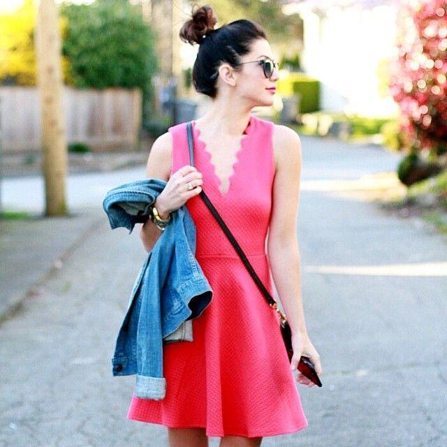 Scallop Skater Dress!  ...... @liketoknow.it www.liketk.it/15A47 #liketkit