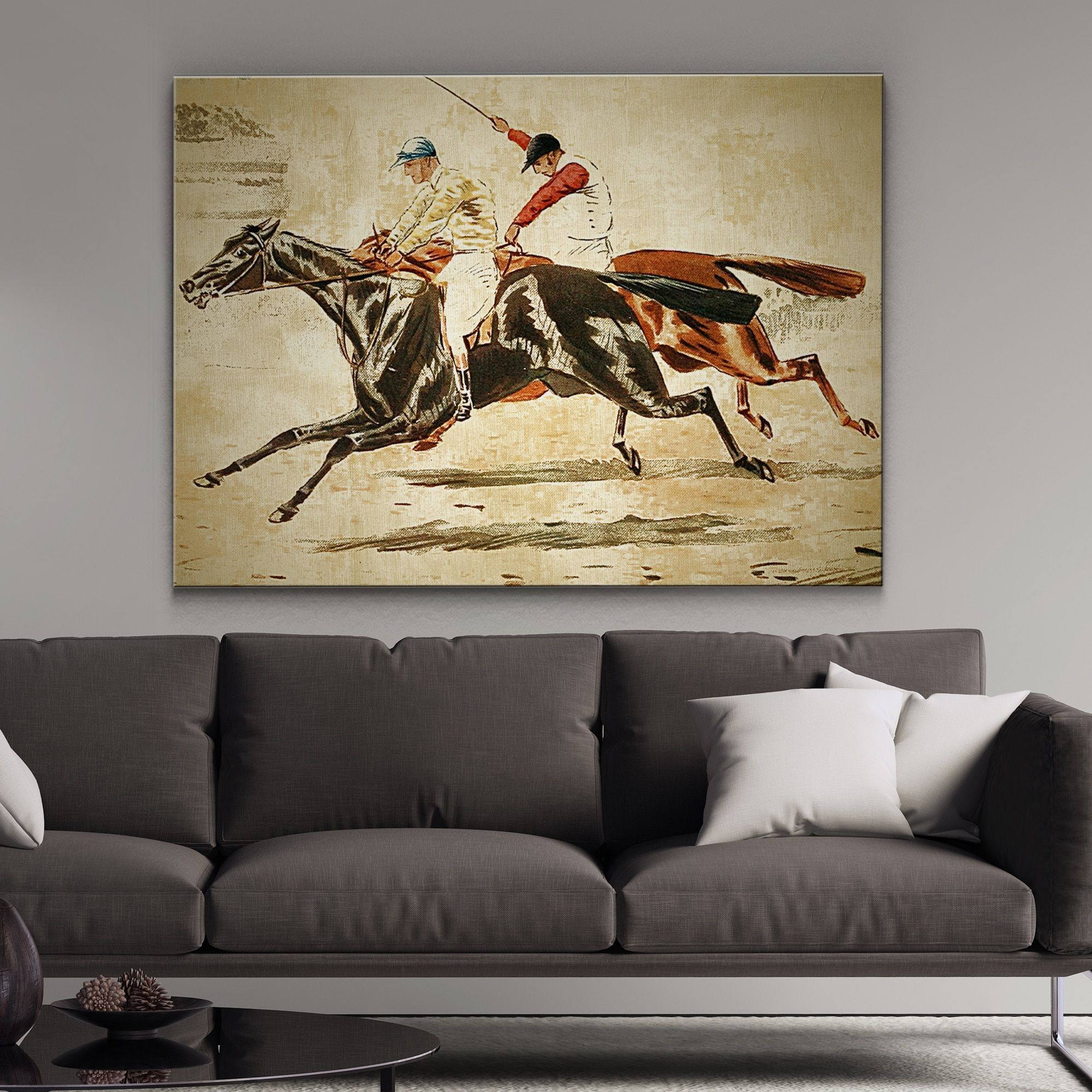 Wexford Home Equine Sketch V Canvas