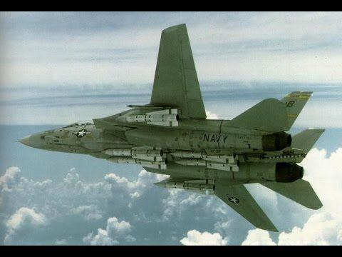 Documental El Avion de Guerra Más Letal del Planeta - El Supersónico F14...