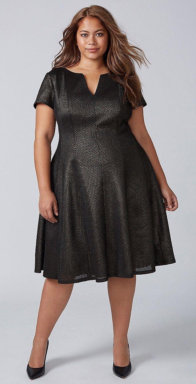 Plus Size Party Dress - Plus Size Cocktail Party Dress #plussize ...
