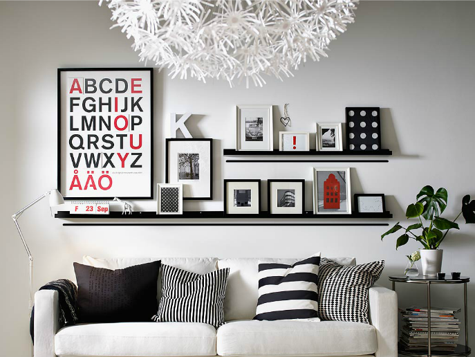 RIBBA zdjęcia IKEAEtagere mural pułki na cadreParement lc5K1uTJ3F