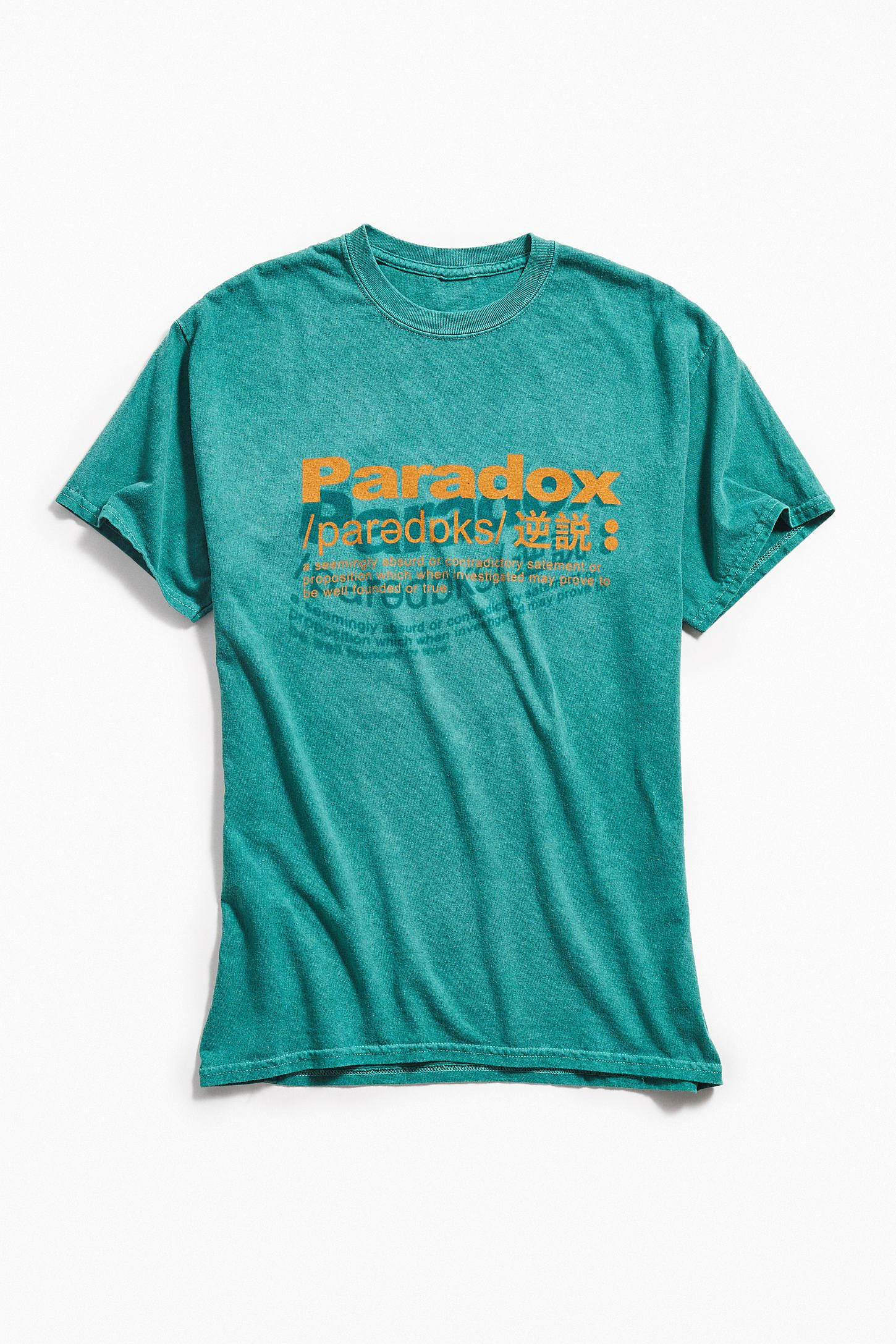 c6d7c48916 Paradox Definition Tee in 2019 | Shirts | Mens tops, Paradox, Tees