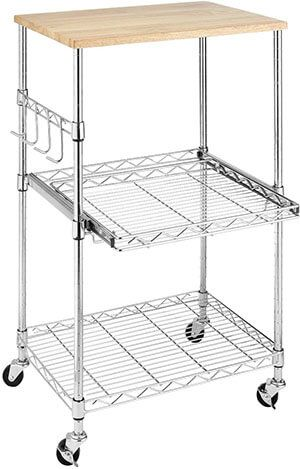 Top 10 Best Stainless Steel Kitchen Carts In 2020 Reviews