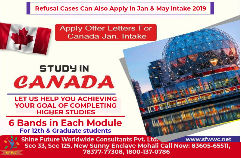 Study In Canada Hurry Up January May Intake 2019 Limited