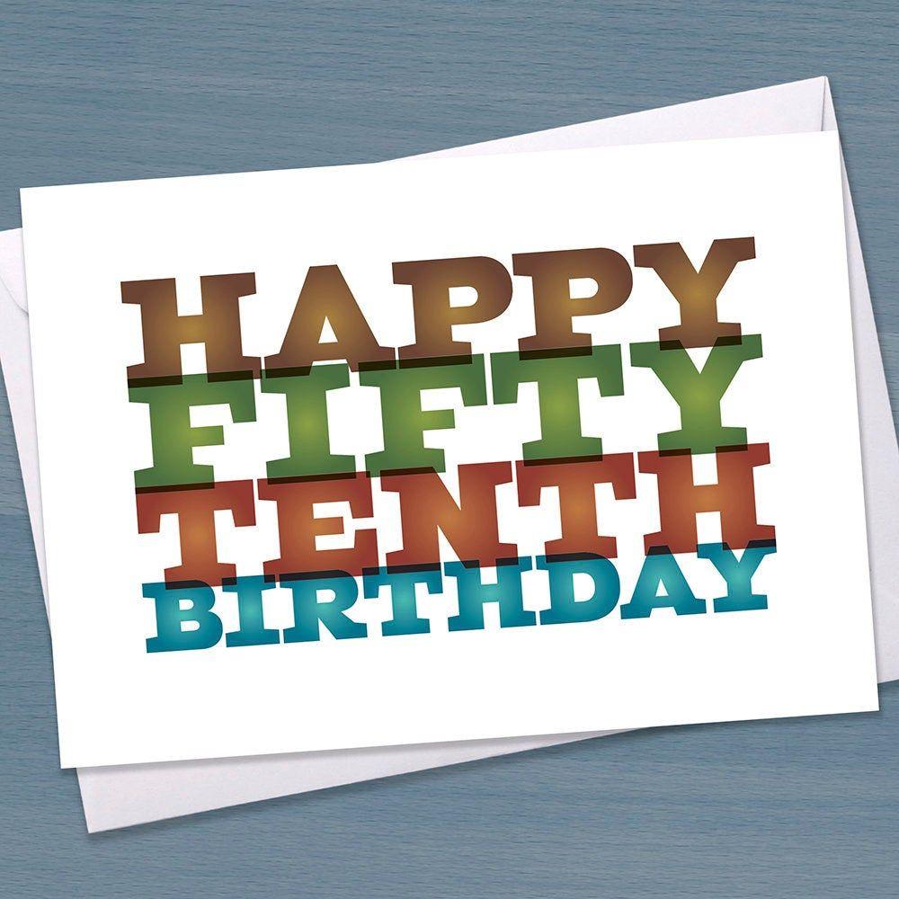 Funny 60th birthday card big 60 sixtieth birthday